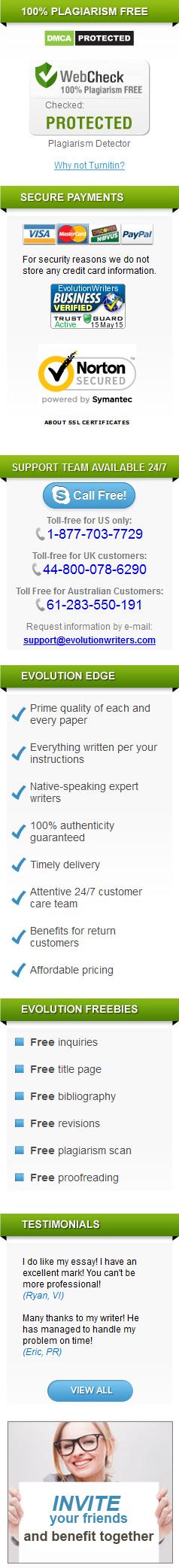 Essay Service Evolutionwriters com     Custom Writing Review Best Essay Writing Service Reviews Evolution Writers